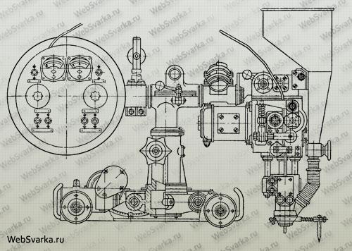 Сварочный трактор АДС 1000 2